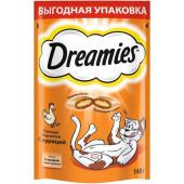 Dreamies  (Дримс) Лакомые подушечки с курицей для кошек