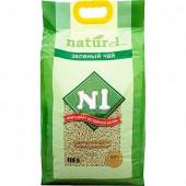 Naturel (Натурэль) №1 зеленый чай древесный комкующийся для кошек