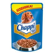 Chappi влажный корм для собак «Мясное изобилие»