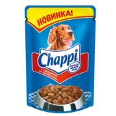 Chappi влажный корм для собак «Говядина по-домашнему»