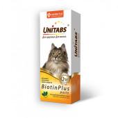 Unitabs (Юнитабс)  BiotinPlus 120мл паста с биотином для кошек