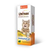 Unitabs (Юнитабс)  ImmunoCat 120мл паста для иммунитета для кошек