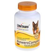 Unitabs (Юнитабс)  BreversComplex с пивными дрожжами для Крупных собак 100таб