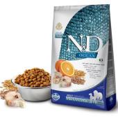 Farmina (Фармина)  N&D OCEAN с треской, спельтой, апельсином для собак крупных и средних пород