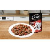 CESAR® (Цезарь)  из говядины с овощами 85 г
