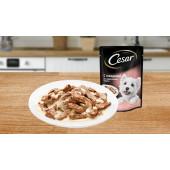 CESAR® (Цезарь)  с говядиной в сливочном соусе 85 г