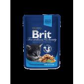Brit Premium (Брит Премиум) Cat Pouches Chicken Chunks for Kitten