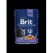 Brit Premium (Брит Премиум) Cat Pouches with Cod Fish