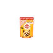 PEDIGREE®  (Педигри) Паштет для взрослых собак мелких пород с курицей