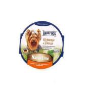 Happy Dog (Хэппи Дог) Нежный паштет с уткой и курицей для собак мелких пород
